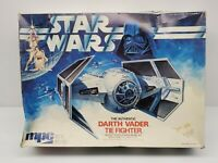 MPC Star Wars Darth Vader Tie Fighter Authentic Vintage Scale Plastic Model Kit