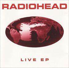 CD RADIOHEAD - Live EP - Belgium edition +RARE+