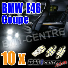 BMW 3 SERIES E46 COUPE READING LUGGAGE FOOTWELL LED LIGHT LAMP BULB KIT INTERIOR