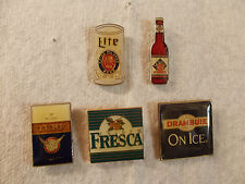 Fresca, Lite, Red Dog, Drambuie, Turk Lapel & Hat Pins or Tie Tacs