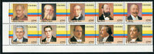 Colombia 891a-j, MNH, Famous People x2358
