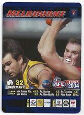 25 Cameron Bruce Melbourne 2004 Teamcoach Blue Prize Star Premium