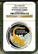 2012 $2 Niue Florida Alligator NGC PF70 Ultra Cameo