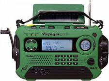 NEW KAITO KA600 DIGITAL VOYAGER PRO CRANK RADIO SOLAR AM FM SW WEATHER BAND NOAA