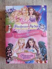 Barbie la principessa e la pop star / la principessa e la povera - 2 DVD