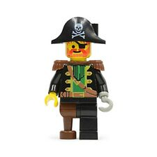 LEGO 6285 - Pirates - Captain Red Beard, Pirate Hat with Skull - Mini Figure