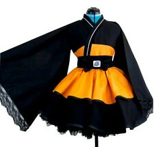 NARUTO Cosplay Costume Lolita Kimono dress Women Kid Girl Halloween Party Dress
