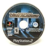 Need for Speed Underground Sony PlayStation 2 PS2 Game Only