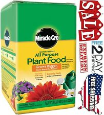 Miracle Gro All-purpose Plant Food Houseplant Grow Flowers Garden Fertilizer