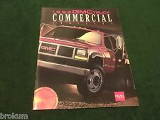 MINT ORIGINAL 1992 GMC COMMERCIAL TRUCKS SALES BROCHURE 36 PAGE (BOX 530)