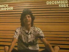 Mick Jagger, The Rolling Stones, Full Page Vintage Pinup