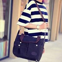 Canvas Vintage Satchel Shoulder Messenger Crossbody Hand Bags Hobo bag Women Men