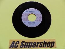 "Kansas dust in the wind - 45 Record Vinyl Album 7"""