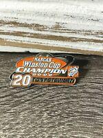 Nascar #20 Tony Stewart Winston Cup Champion 2002 The Home Depot Lapel Pin