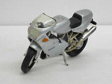 Motorrad Ducati in silber, ohne OVP, Maisto, 1:18