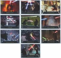 2012 2013 Star Wars Galactic Files Duels of Fate Single or Set You Pick