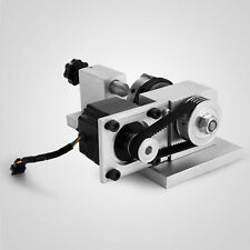 Neue CNC-Fräsrotationsachse, A-Achse, 4. Achse, 3-Backen
