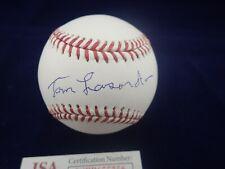 "Tommy ""Tom"" Lasorda LA Dodgers Signed OML Baseball - JSA WPP655656"