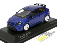 Ford Focus RS 2009 Indianapolis Blue 1/43 Minichamps