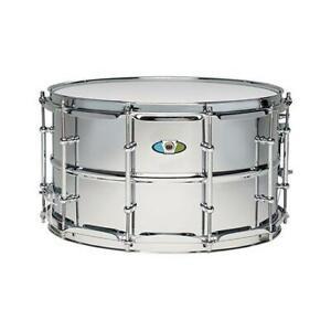Ludwig LW0814SLDIR 8x14inch Supralite Polished Steel Snare Drum