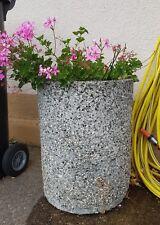 Ivyline Tivoli Innen Blumen Blumentopf Zement Low Rise 15cm für Kakteen Terra