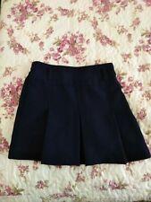 Girls Size 5 Regular Nautica School Uniform Skirt w/Attached Shorts