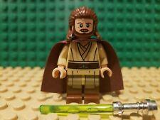 LEGO STAR WARS QUI-GON JINN Minifigure JEDI MASTER  75058