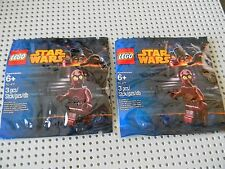 Lego Star Wars - Lot of 2  TC- 4  Minifigures - Exclusive Polybag