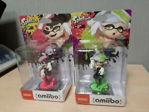 Amiibo Splatoon Marie + Callie Figures Rare Nintendo New Sealed