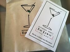 Lewis Ice Bag - Crushed Ice for Juleps & Mojitos - Home Bar & Pub Drink Mixing