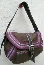 -Authentique sac à main BENSIMON en toile   vintage bag