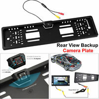 170° Car Rear View Reversing HD Camera Backup Parking Plate Night Vision Cam New
