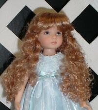 Doll Wig Monique 102 size 7/8 - Light Strawberry Blonde fits Little Darling