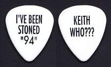 Bryan Adams Keith Scott I've Been Stoned 94 White Guitar Pick - 1994 Tour