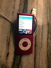 Apple MB735LL/A 8GB iPod Nano 4th Generation - Pink New Battery New LCD. T7