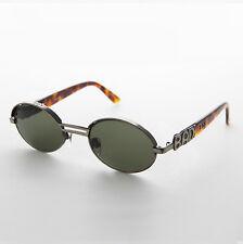 Oval Bad Boy Brand Vintage Sunglass Bronze/Green/Tortoiseshell - Tommy