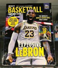 BECKETT Basketball Card ANNUAL Price Guide 28th Edition 2021 - LEBRON JAMES