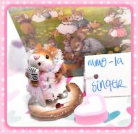 ❤️Wee Forest Folk MMO-1a Singer Limited Edition Glitter Pink Dress Valentines❤️