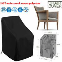 Waterproof Outdoor Patio Single High Back Swing Chair Furniture Protection Cover