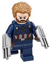 LEGO Marvel Super Heroes Infinity War Captain America Minifigure (76101)