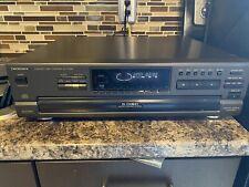 Technics SL-PD887 Compact Disc Changer 5 Disc Digital Servo System Black WORKS