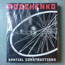 RODCHENKO Spatial Constructions Hatje Cantz New