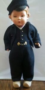 """Rare 16"""" Celluloid Doll Made in Germany Jointed Arms & Legs BEAUTIFUL"""