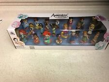 Disney ANIMATORS COLLECTION Mega DOLL Set of 20 New Deluxe Figurine Princess.