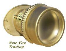 """Wide Angle Peephole Door Viewer Door Scope 1 3/4"""" View Gold"""