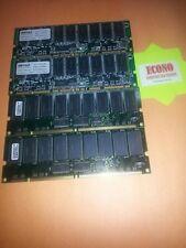 2GB LOT OF 4 PCS ( RAM ) 512MB 64Mx72 SDRAM ECC Registered