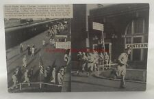 Vintage Postcard North Platte Nebraska Union Pacific Railroad Station Canteen