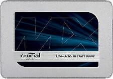 "Crucial MX500 1TB 2.5"" SSD Interno (CT1000MX500SSD1) Disco Duro"