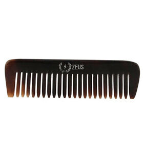 ZEUS Natural Horn BEARD and Mustache Comb