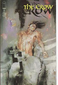 °THE CROW BOOK #1 RESURRECTION COVER A° USA Image Comics 1999 Jon J. Muth